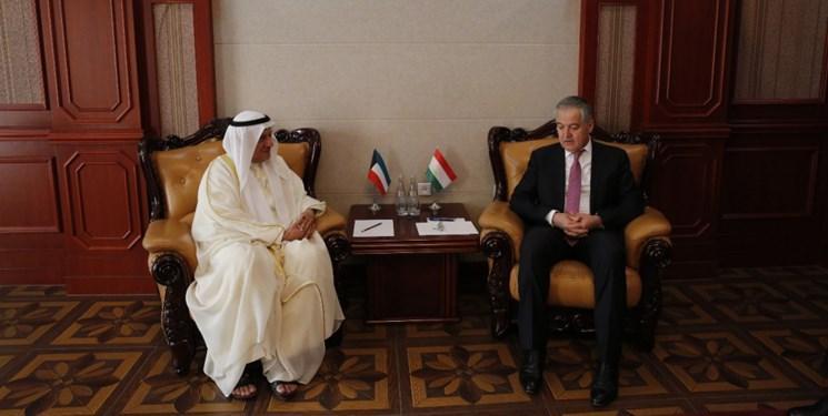 دیدار وزیر خارجه تاجیکستان و سفیر کویت در دوشنبه