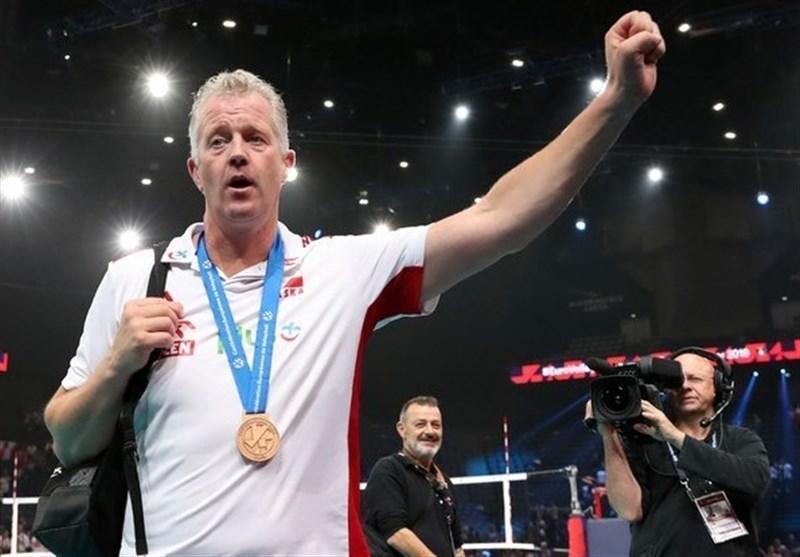 هینن: مدال جام جهانی والیبال را به یکی از هواداران می دهم